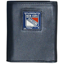 Siskiyou Buckle HTRN105 New York Rangers Leather Tri-fold Wallet