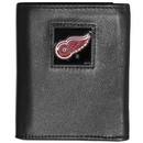 Siskiyou Buckle HTRN110 Detroit Red Wings? Leather Tri-fold Wallet