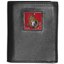 Siskiyou Buckle HTRN120 Ottawa Senators? Leather Tri-fold Wallet