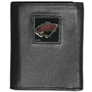 Siskiyou Buckle HTRN145 Minnesota Wild? Leather Tri-fold Wallet