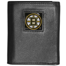 Siskiyou Buckle HTRN20 Boston Bruins? Leather Tri-fold Wallet