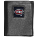 Siskiyou Buckle HTRN30 Montreal Canadiens? Leather Tri-fold Wallet