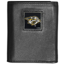 Siskiyou Buckle HTRN40 Nashville Predators? Leather Tri-fold Wallet