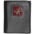 Siskiyou Buckle HTRN45 Arizona Coyotes? Leather Tri-fold Wallet
