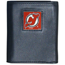 Siskiyou Buckle HTRN50 New Jersey Devils Leather Tri-fold Wallet