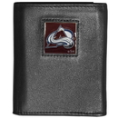 Siskiyou Buckle HTRN5 Colorado Avalanche? Leather Tri-fold Wallet