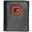 Siskiyou Buckle HTRN65 Philadelphia Flyers? Leather Tri-fold Wallet