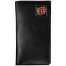 Siskiyou Buckle HTW60 Calgary Flames Leather Tall Wallet