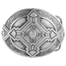 Siskiyou Buckle Southwest Antiqued Belt Buckle, I256
