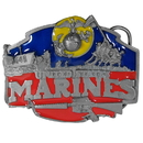 Siskiyou Buckle I50E Military U.S. Marines - Enameled Belt Buckle