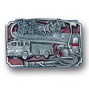 Siskiyou Buckle J30E Fire Fighting Enameled Belt Buckle