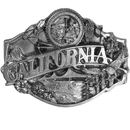 Siskiyou Buckle J35 California Antiqued Belt Buckle