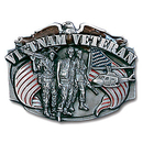 Siskiyou Buckle K85E Vietnam Veteran Enameled Belt Buckle