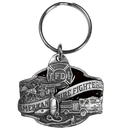 Siskiyou Buckle KR104E Key Ring - Fire Fighter