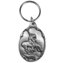 Siskiyou Buckle End of the Trail Antiqued Keyring, KR116