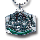 Siskiyou Buckle KR118E Key Ring - Deer Family