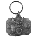 Siskiyou Buckle Coastal View Antiqued Key Chain, KR126