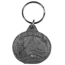 Siskiyou Buckle Mason Antiqued Key Chain, KR151