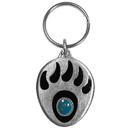 Siskiyou Buckle KR170E Key Ring - Grizzley Paw & Stone