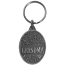 Siskiyou Buckle World's Greatest Grandma Antiqued Metal Key Chain, KR198