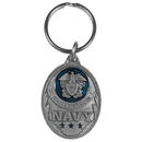Siskiyou Buckle KR214E Key Ring - U.S. Navy