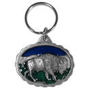 Siskiyou Buckle KR32E Key Ring - Bison
