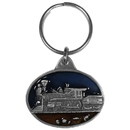 Siskiyou Buckle KR47E Key Ring - Steam Engine
