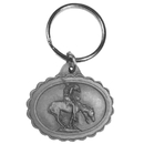 Siskiyou Buckle End Of Trail Antiqued Keyring, KR73