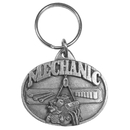 Siskiyou Buckle Mechanic Antiqued Keyring, KR77