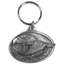 Siskiyou Buckle Eagle Antiqued Keyring, KR84