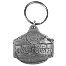 Siskiyou Buckle Coast Guard Antiqued Keyring, KR9