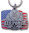 Siskiyou Buckle KRC92E Key Ring - Air Force