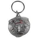 Siskiyou Buckle KT100E Key Ring - Til Death Do Us Part