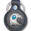 Siskiyou Buckle LKS2 Leather Keychain - Southwest Eagle