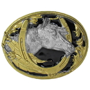 Siskiyou Buckle M2G Horse Head Vivatone Belt Buckle