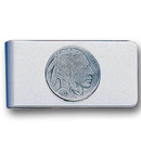 Siskiyou Buckle MC13 Sculpted Moneyclip - Indian Head Nickel