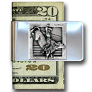 Siskiyou Buckle MCL7 Large Money Clip - Bull Rider
