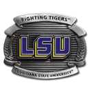 Siskiyou Buckle OCB43 LSU Tigers Oversized Belt Buckle