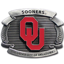 Siskiyou Buckle OCB48 Oklahoma Sooners Oversized Belt Buckle