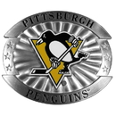 Siskiyou Buckle OHB100 Pittsburgh Penguins Oversized Belt Buckle