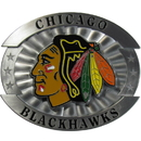 Siskiyou Buckle OHB10 Chicago Blackhawks Oversized Belt Buckle