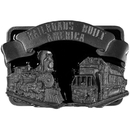Siskiyou Buckle P29E Railroad Buckle Enameled Belt Buckle