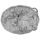 Siskiyou Buckle Wyoming Antiqued Belt Buckle, P67