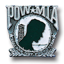 Siskiyou Buckle PN1016E Collector Pin - Pow-Mia