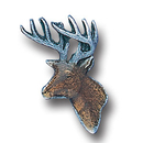 Siskiyou Buckle PN1037E Collector Pin - Deer Head