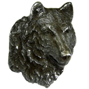 Siskiyou Buckle Wolf Profile Lapel Pin, PN1116E