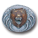 Siskiyou Buckle PN2022E Collector Pin - Grizzly Head