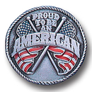Siskiyou Buckle PN2053E Collector Pin - Proud American