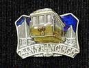 Siskiyou Buckle PN2119E Collector Pin - San Francisco