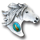 Siskiyou Buckle PN2144E Collector Pin - Horsehead and Stone